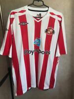 Sunderland 2007/2008 home Umbro Jersey Football shirt Clark