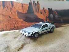 Time Machine Dmc DeLorean Back to the Future 1/43 Amazing scalemodel Argentina