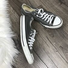 Convers Classic Canvas Sneakers Shoes Mens Size 9 Womens 11 Grey