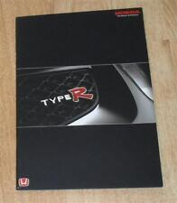 Honda Civic Type R Brochure 2002 - Including Accord & Integra Type-R