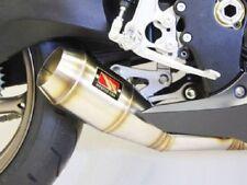 Escape y sistemas de escape para motos Suzuki con anuncio de conjunto