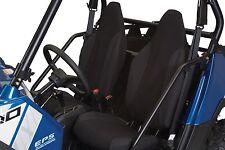 QUADGEAR POLARIS RZR 570 800 XP 900 BLACK BUCKET SEAT COVERS SET