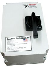 Elimia 40A Fused Disconnect Switch NEMA 4X w/Circuit Breaker 208-230 480V 600V