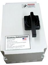 Elimia 40A Fused Disconnect Switch NEMA 4X w/Circuit Breaker 208-230 480V 600V