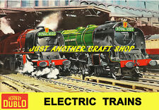 Hornby Dublo 1959 Royal Scot A4 Large Size Poster Advert Shop Display Sign