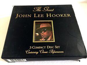 John Lee Hooker - The Great John Lee Hooker - 1999 - 3 Disc Set - CD