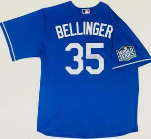 CODY BELLINGER Autographed Dodgers World Series Blue Nike Jersey FANATICS