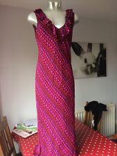 ladies boden Spotty Silk dress size 12