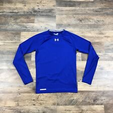 Under Armour Mens Large Long Sleeve Compression Shirt Athletic Heatgear Fitted