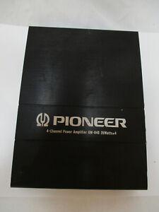 Pioneer GM-840 4 Channel Power Amplifier 4x35W Made In Japan Car Amplifier
