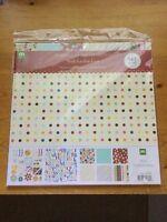 Making Memories Hullabaloo 12x12 Scrapbook Embellishment Paper 24 Sheets 142 Pcs