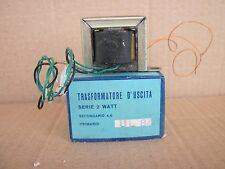 TRASFORMATORE D'USCITA 2400 OHM UL84 2W SINGLE ENDED NOS