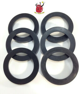 6 New Rubber Gaskets Gas Can Spout Gott Rubbermaid Blitz Wedco Scepter Eagle