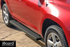 "iBoard Side Steps Nerf Bars 4"" Black Fit 06-12 Toyota Rav4"