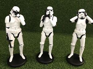 Star Wars Three Wise Stormtroopers (14cm) See, Hear, Speak No Evil