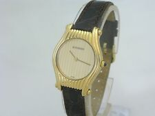 BOUCHERON 18ct GOLD LADIES QUARTZ WATCH. MINT CONDITION