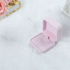 Square Pendant Necklace Boxes Velvet Jewelry Display Gift Box for Women Newest