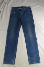 Wrangler 47MWZPW Dark Color Denim Jeans Tag 30x34 Measure 30x33.5 Cowboy