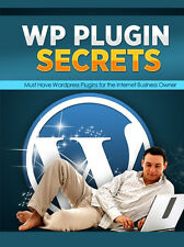 Wordpress plugin secrets video tutorial 10 part video course - CD/DVD