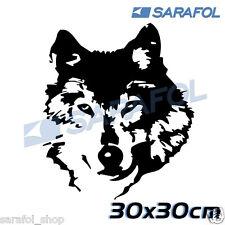 Wolf Aufkleber Sticker Tuning 30x30 cm Adesivo Lupo Lobo Loup Bолк Wilk Farkas