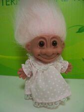 "NIGHTY NIGHT GIRL IN NIGHT GOWN  - 5"" Russ Troll Doll - NEW IN ORIGINAL WRAPPER"