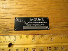Jaguar Metal Display Plaque Models & Diecast 1/12 1/24 1/18 1/43 XJ XK 140 XKE