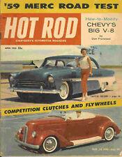 Hot Rod 1959 Apr 1936 ford mercury chevy v8 engine nhra
