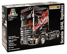 Italeri 1:24 Scania 164L Topclass Plastic Model Kit 3922