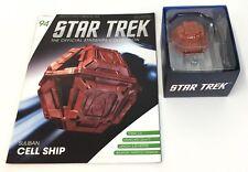 Star Trek Suliban Cell Ship ~ Magazine #94 Eaglemoss Official Nrfb
