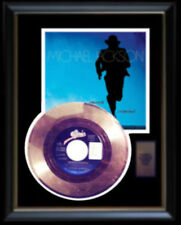 MICHAEL JACKSON SMOOTH CRIMINAL RARE GOLD RECORD DISC & 45 RPM SLEEVE