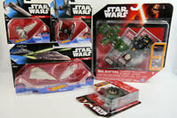 Star Wars Hot Wheels Micro Machine Bundle Various Ships and Box Buster Brand New