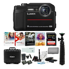 Panasonic Lumix Ts7 Digital Camera with 64Gb Memory card and Accessory Bundle