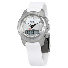 Tissot T-Touch II White Mother of Pearl Dial Ladies Watch T047.220.47.111.00