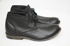 NEW Walk-Over Vintage 'Vaughn' Chukka Boot - Black Leather - Size 8 M (Y14)