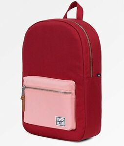 NEW RBCK-133 HERSCHEL SUPPLY CO. SETTlLEMENT MID BRICK RED BACKPACK