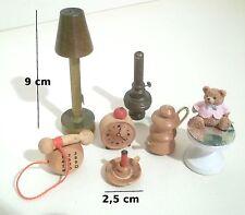 lot d'objets miniature,maison de poupée,barbie, poupée, jouets   *B13