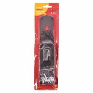 "14"" x 2""' Hasp & Staple 2 Lock 14 Security Swivel Locking Bar Heavy Duty"
