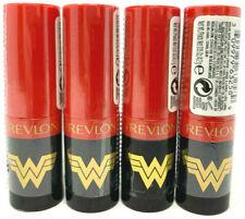 (4) Revlon Wonder Woman WW84 Lipstick Limited Edition Sealed No Repeats