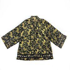 Dynasty Hong Kong Vintage Asian Brocade Kimono Jacket