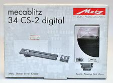 METZ Mecablitz 34 CS-2 Automatic Slave  DIGITAL - nuovo -