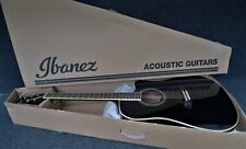 Ibanez PF15ECE-BK Performance Series ACOUSTIC ELECTRIC GUITAR SPRUCE TOP BLACK.