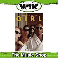 New Pharrell Williams 'Girl' PVG Music Book - Piano, Vocal, Guitar
