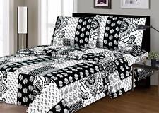 Black & White Design Pattern 3PC Sheet Set Full Size