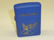 "Zippo Lighter ""gauloises"" w. Blue case-Limited Edition - 2002-very nice"