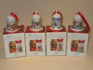 Hutschenreuther Weihnachtsglocke 1998 1999 2000 2001  OVP und weitere ab 1978