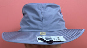 Tilley Gray Bucket Hat Certified (UPF 50+) w/ Varying Sizes - New With Tags