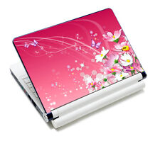 "Pink Laptop Skin Sticker Cover Art Decal For 13.3"" 14"" 15"" 15.6"" HP Dell Acer"