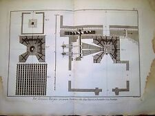 91-3-q Gravure 1783 Panckoucke fer grosses forges, fourneau à fer