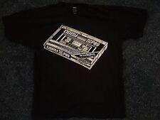 New Obey Propaganda Cassette Hip Hop Black Shirt Graffiti Medium Shepard Fairey