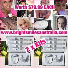 2 x Teeth Whitening Kits Worth $79.99 EACH Real Business, Real Customers Vegan